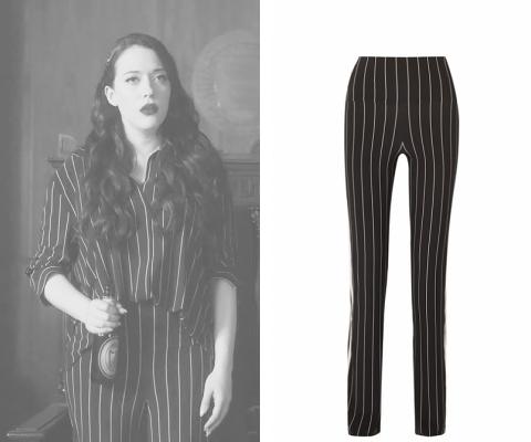 0104 striped pants